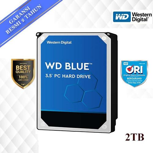 "Foto Produk WD Blue 2TB 3.5"" SATA3 - HD / HDD / Hardisk / Hard Disk dari Tetra Computer"
