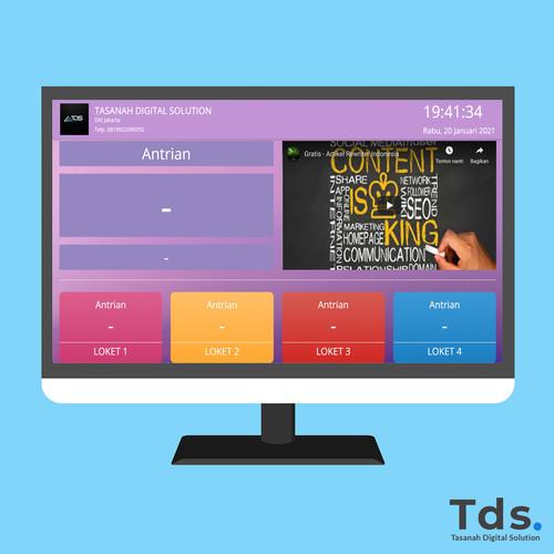 Foto Produk APLIKASI ANTRIAN PENGUNJUNG BERBASIS WEB MENGGUNAKAN PHP & MYSQL dari Tasanah Digital Solution