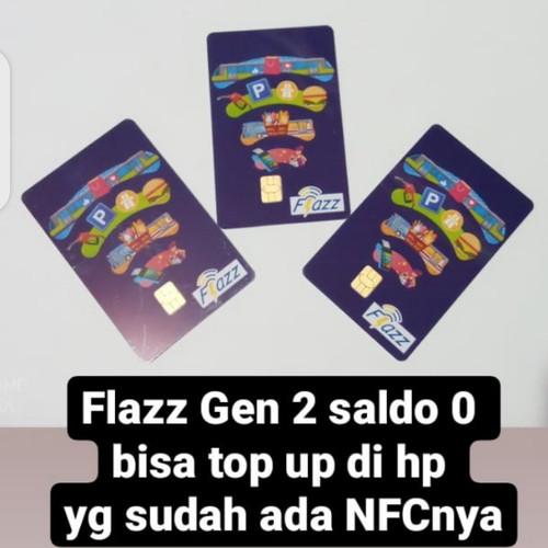 Foto Produk kartu flazz bca gen 2 saldo Rp. 0 - Biru dari SerbaMurah Online Shop