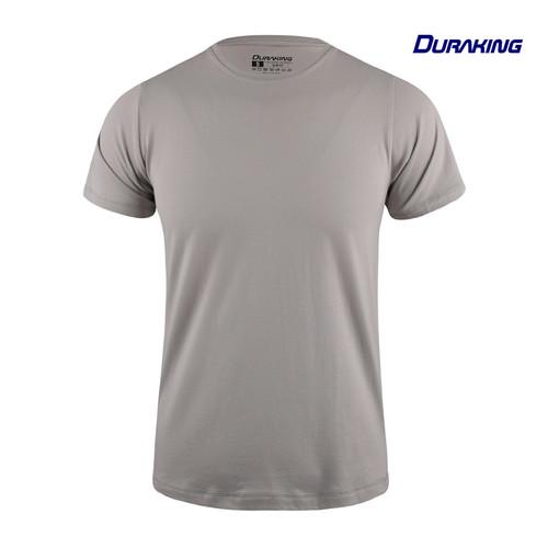 Foto Produk Duraking Kaos 100% Cotton SUPIMA Daily Wear Grey - M dari Duraking Outdoor&Sports