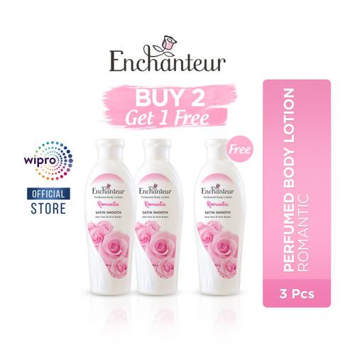 Foto Produk Enchanteur Romantic Body Lotion - Buy 2 get 1 Free dari Wipro Unza Official