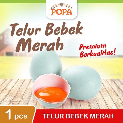 Foto Produk TELUR BEBEK MERAH - MENTAH (PER PCS) dari POPA Mart