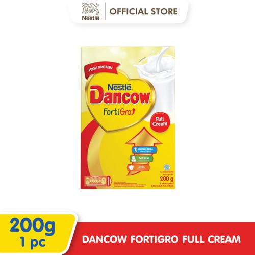 Foto Produk Nestlé DANCOW FortiGro Susu Bubuk Full Cream Usia Sekolah Box 200g dari Nestle Indonesia