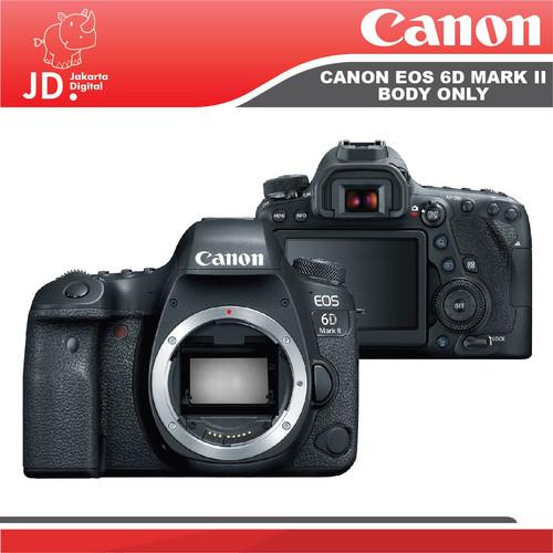 Foto Produk Canon EOS 6D Mark II / 6D II DSLR Camera Body Only dari Jakarta Digital
