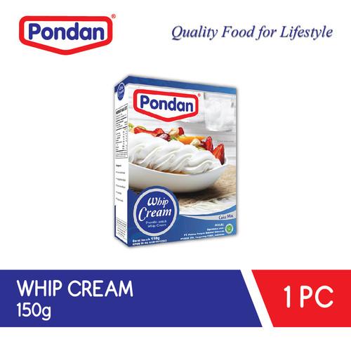 Foto Produk PONDAN Whipcream - Krim Kocok - Penghias kue tart dari Pondan Food