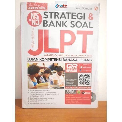 Foto Produk Buku Strategi dan Bank Soal JLPT N5 N4 N3 + CD dari Gudang Buku Original 88