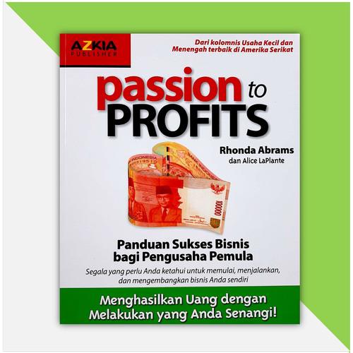 Foto Produk Passion to Profits dari Buku Cendekia