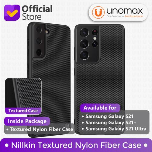 Foto Produk Case Samsung Galaxy S21 / Plus / Ultra Nillkin Textured Nylon Fiber - Black, S21 Ultra dari unomax