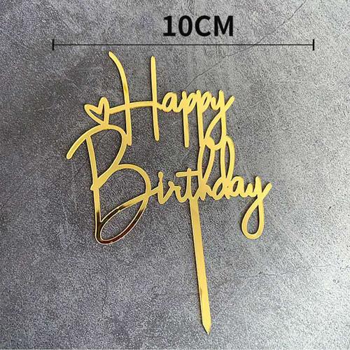 Foto Produk CAKE TOPPER ACRYLIC HAPPY BIRTHDAY BRIDE TO BE HIASAN KUE - ZS8033 dari HAPPY_TIME