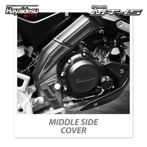 Foto Produk Hayaidesu Yamaha MT 15 Body Protector Middle Side Cover dari Hayaidesu Indonesia