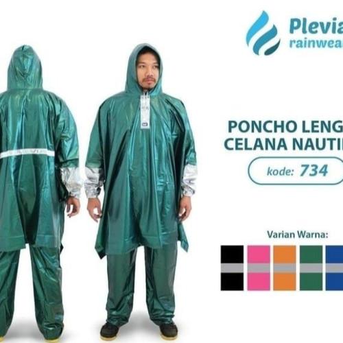 Foto Produk Jas Hujan Poncho lengan celana Plevia NAUTILUS 734 batman onco kalong dari BBTronik