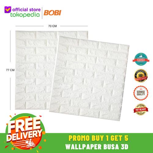 Foto Produk Wallpaper Brick Foam 3D - Wallpaper Busa [Promo 5pcs] dari AbadinternasionalTrading