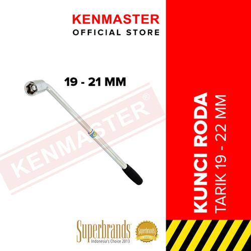 Foto Produk Kunci roda L tarik Mobil ukuran 19 - 21 mm Ken Master Wheel Nut Wrench dari PLATINUM CAR PARTS