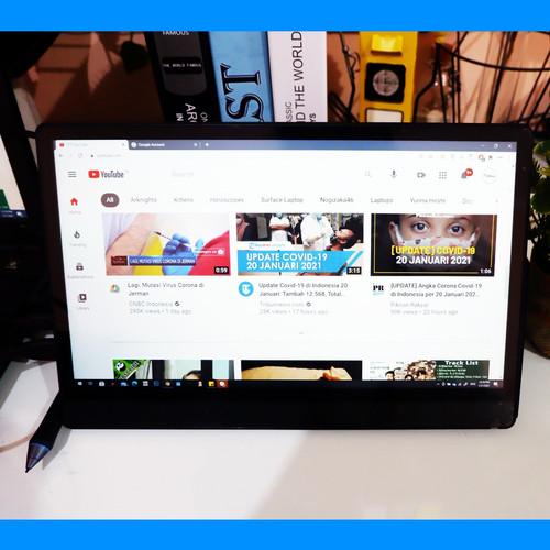 Foto Produk Portable Monitor 13.3 Inch USB TYPE C HDMI | FHD 1080p BONUS CASE - normal dari Koreanholicshop