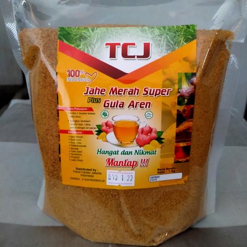 Foto Produk Jahe merah SUPER plus gula aren Secang habbatusaudah - jahe instan 1KG dari trend center jakarta