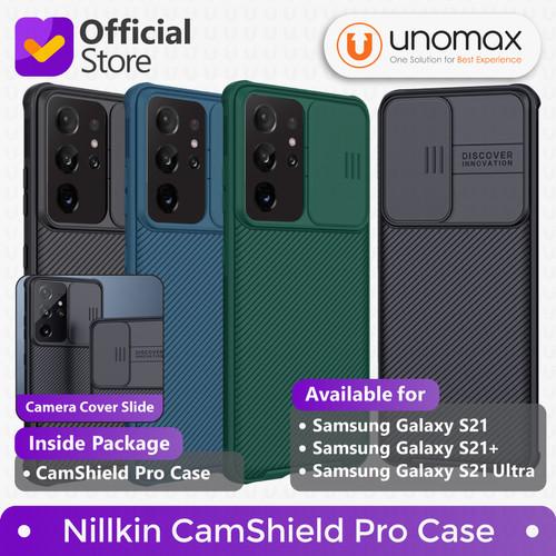 Foto Produk Case Samsung Galaxy S21/Plus/Ultra Nillkin CamShield Pro Camera Cover - Black, S21 Plus dari unomax