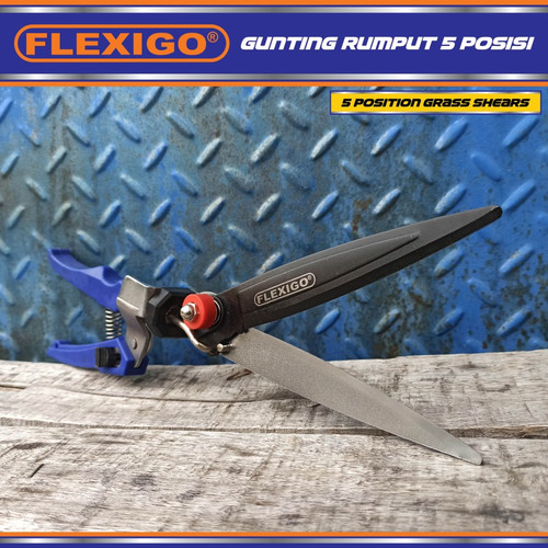 Foto Produk Gunting Rumput Flexigo 5 Posisi Lawn Grass Shear 5 Angles dari GoldStars