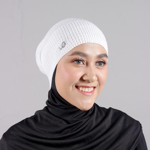 Foto Produk Rabbani - Ciput Rajut wanita - Biru levis dari Rabbani Official