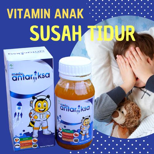 Foto Produk Vitamin Anak Susah Tidur Madu Antariksa dari Senja Hari