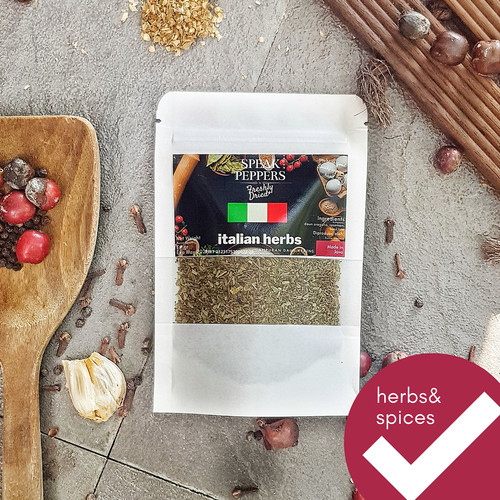 Foto Produk Italian Herbs / ITALIAN SEASONINGS - SpeakPepper dari speakpeppers