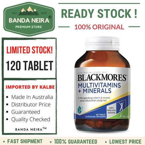 Foto Produk Blackmores Multivitamins + Minerals 120 Tablet - KALBE dari Banda Neira Store