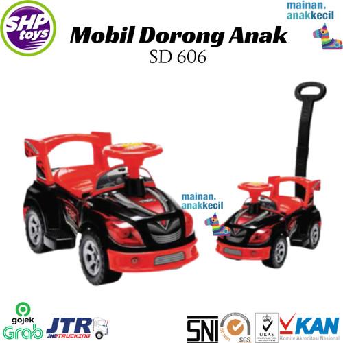 Foto Produk MAINAN ANAK/mobilan anak/mobil dorong/sepeda anak/shp toys/SD 606 dari mainan.anakkecil