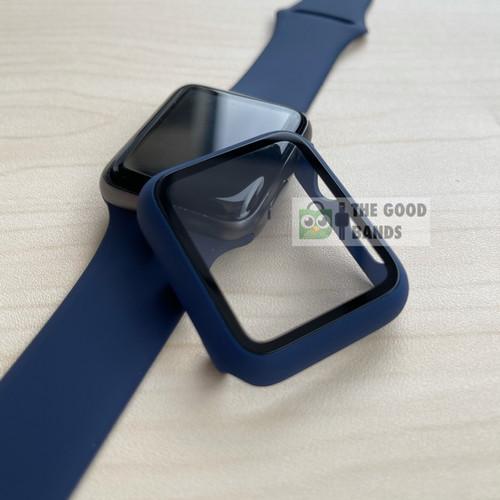Foto Produk Case Apple Watch SE 6 5 4 Casing & Glass Full Cover TG Hard 40mm 44mm dari The Good Bands
