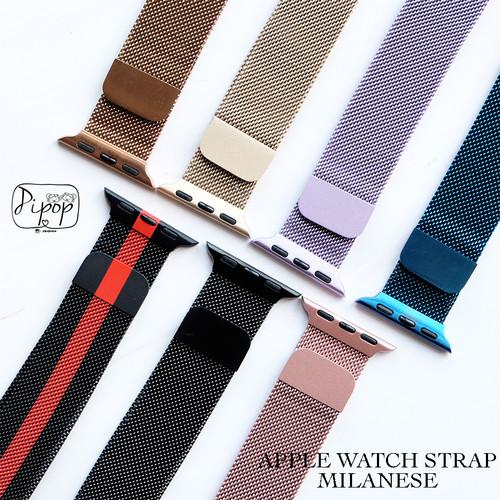 Foto Produk APPLE WATCH STRAP MILANESE LOOP STEEL 38 40 42 44 - 42/44, Blue dari Pipop Case