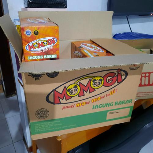 Foto Produk 1 dus momogi isi 8 box. boleh mix rasa dari murah banget.co.id