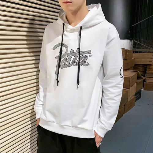 Foto Produk FortKlass UA Sweater Hoodie Pria Sablon Lengan Panjang - Putih dari FortKlass
