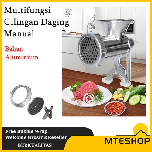 Foto Produk Multifungsi Penggiling Gilingan Daging / Meat Mincer Manual Besi - 10 dari MTEshop