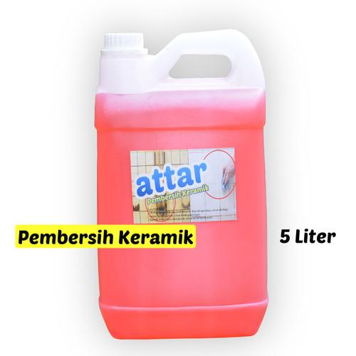 Foto Produk Khusus GoSend/Grab - Cairan Pembersih KERAMIK WC & Toilet - 5 Liter dari Tasneem