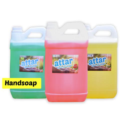 Foto Produk Khusus GOSEND/GRAB Sabun Cuci Tangan ATTAR-Strawberry HandSoap 5 Liter dari Tasneem