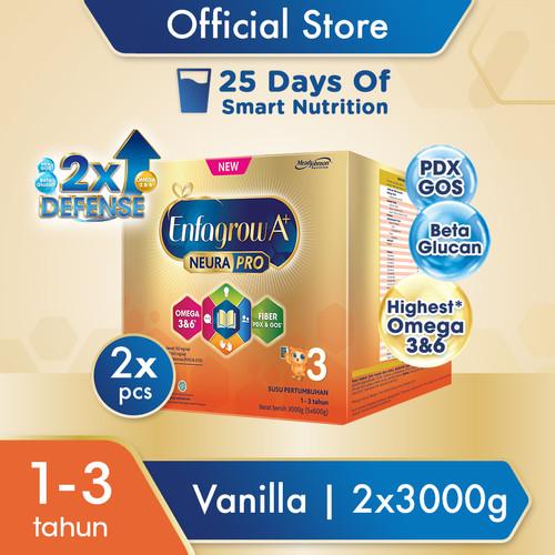 Foto Produk Enfagrow A+ 3 Susu Formula Vanila 3000g x 2 dari Enfa A+ Official Store