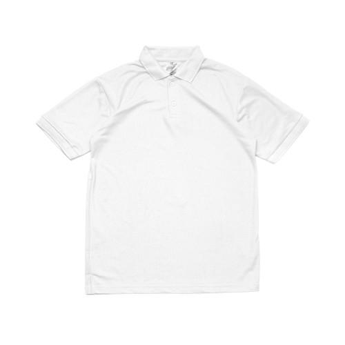 Foto Produk Sipolos Kaos Kerah Polo Shirt Pria Katun Lacoste 30S - Basic White, L dari Sipolos Official Shop