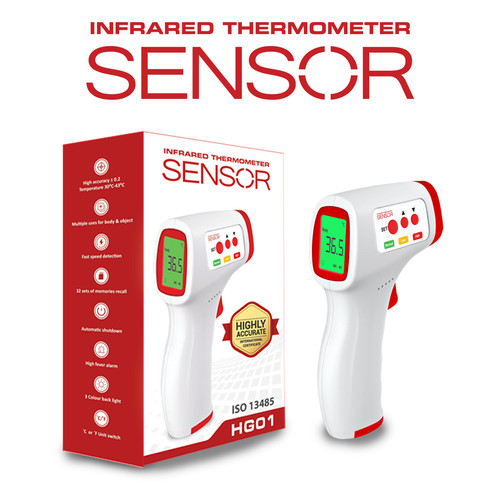 Foto Produk Infrared Thermometer Sensor AD 801 dari Plug Official Store