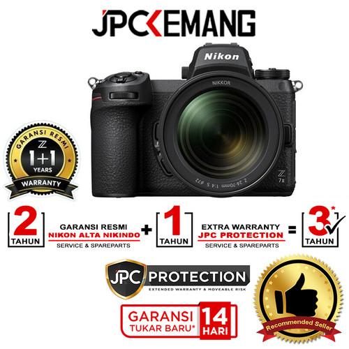 Foto Produk Nikon Z7 II Nikon Z7II Nikon Z7 Mark II Kit 24-70mm f4 GARANSI RESMI dari JPCKemang