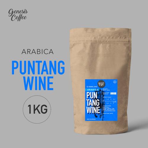 Foto Produk ARABICA SINGLE ORIGIN / PUNTANG WINE KEMASAN 1KG - BIJI dari Genesis Coffee