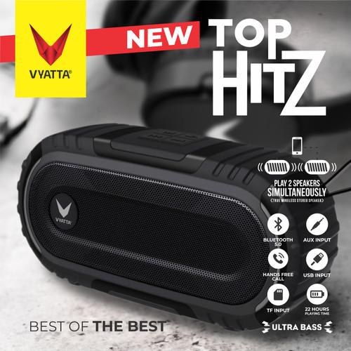 Foto Produk VYATTA Top Hitz TWS Speaker - Stereo, Bluetooth, USB/TF - ULTRA BASS - Briliant Black dari VYATTA INDONESIA