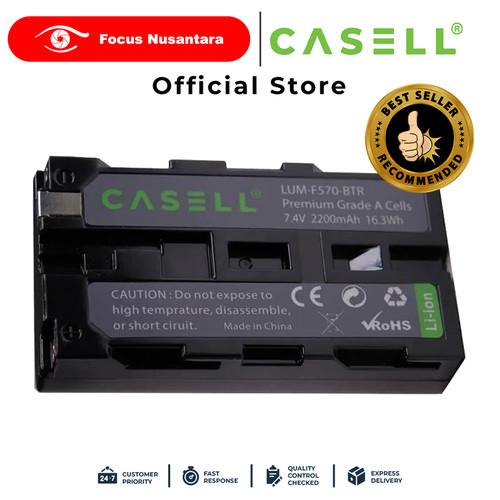 Foto Produk CASELL Battery Pack NP-F550/F570 for Video Light Only dari Focus Nusantara