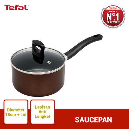 Foto Produk Tefal Day by Day Saucepan 18cm+ lid - Panci Wajan Penggorengan dari TefalKrups Official