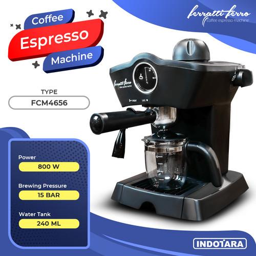 Foto Produk Mesin Kopi Espresso / Espresso Machine Ferratti Ferro FCM-4656 dari PT. Indotara Persada