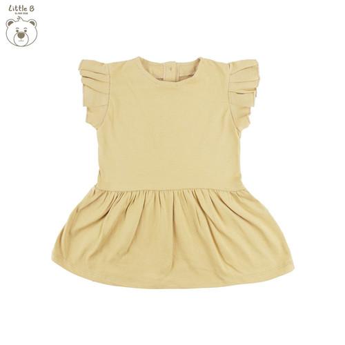 Foto Produk Little B By MacBear Dress Bayi Perempuan Basic Collection Little Berly - Mocca, SIZE 6-9M dari MacBear ID