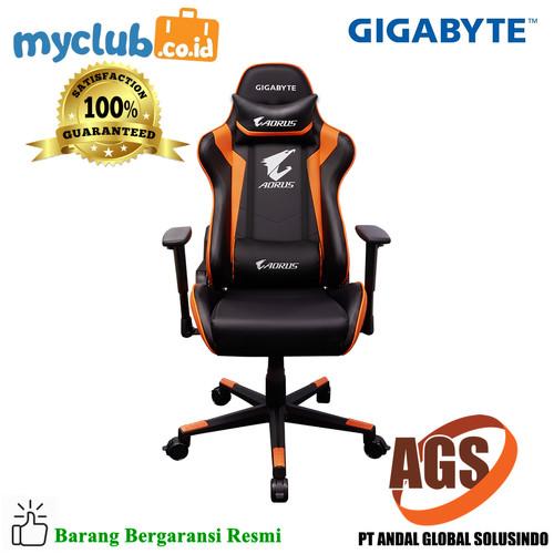 Foto Produk Gigabyte AORUS Gaming Chair AGC300 dari Myclub