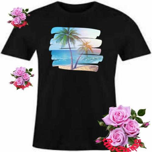 Jual Kaos Pria T Shirt Sablon Dtf Wisata Pantai Bigsize Jakarta Timur Toko Bona Sanjaya Tokopedia