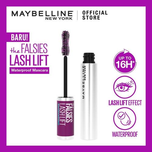 Foto Produk Maybelline The Falsies Lash Lift Waterproof Very Black Mascara dari dyfa bandung