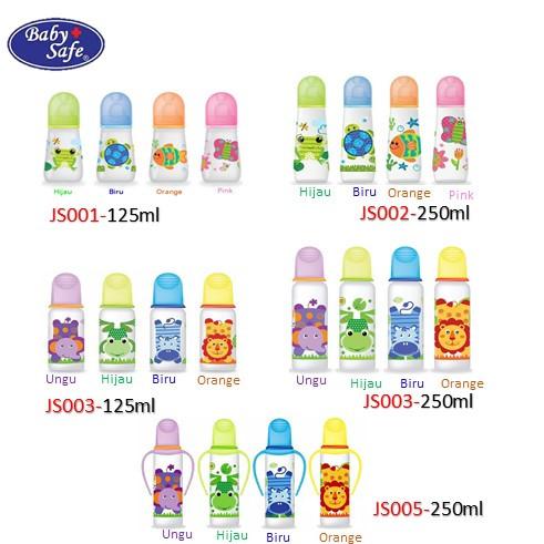 Foto Produk Baby Safe Botol Asi 125 ml / 250ml - JS004, Ungu dari i do my hobbies