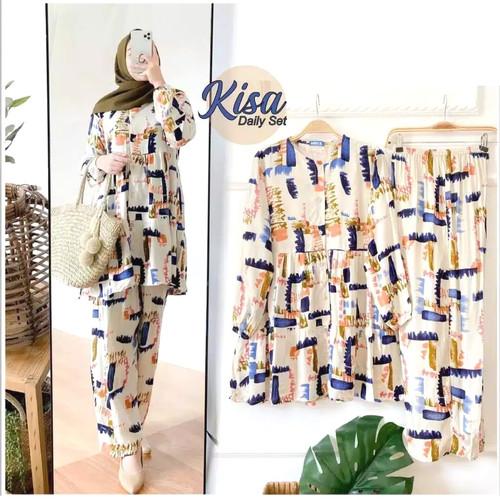 Foto Produk Setelan Wanita Set Daily Tie Dye Kekinian Terbaru Termurah Promo dari Grosir24 Official Store