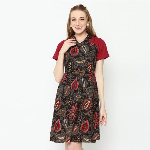 Foto Produk AFSANA DRESS BATIK - S dari ADINATA BATIK ID
