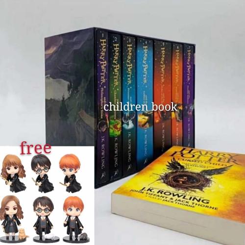 Foto Produk Harry Potter box set 8 buku dari children book